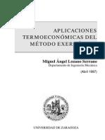 Aplicaciones Termoeconomicas Del Metodo Exergetico