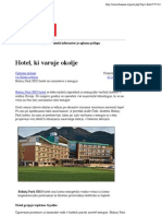 Hotel, ki varuje okolje - Finance