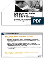 SAP Internet Sales - R3 Edition - In a B2B Scenario