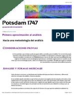 Primera Aproximación Al Análisis » Potsdam 1747
