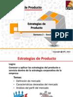 Estrategias de Producto