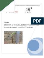 Programa Curso Puesta a Tierra de Instalaciones Domiciliarias e Industriales