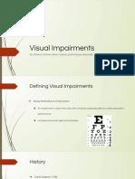 visual impairments pptx