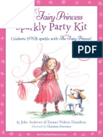 The Very Fairy Princess Sparkly Party Kit