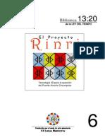 Manual del Proyecto Rinri (Tecnología 4D- Puente Arcoiris Circumpolar