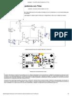 Circuito de Control de Potencia Con Triac (1)