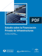 Estudio Sobre La Financiacion Privada de Infraestructuras