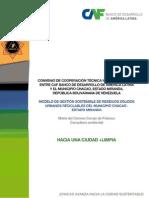 Gestin Sostenible de Residuos Slidos. Chacao 2012