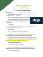 Lei Federal BPC 11.901-09