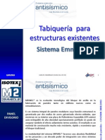 Panel Simple en Tabiques Estructurales de Poliuretano