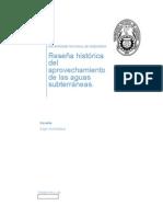 Historia Del Aprovechamiento de Las Aguas Subterraneas