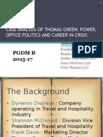 Case Analysis of Thomas Green