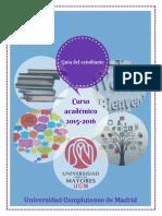 Guía del estudiante de la Universidad para los Mayores (UCM) - Curso 2015-2016