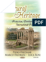 (Focus on Civilizations and Cultures) Piero Frediani, Marco Frediani, Luca Rosi-Cultural Heritage_ Protection, Developments and International Perspectives-Nova Science Pub Inc (2013).PDF