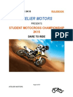 ATELIERS MOTORS - Motocross RuleBook