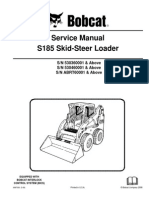 Bobcat s175 s185 Service Manual Skidsteer Loader