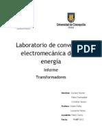 Informe Trafo-2012