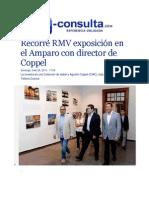 26-07-2015 E-consulta.com - Recorre RMV Exposición en El Amparo Con Director de Coppel