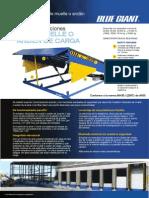 Catálogo Nivelador de Muelle Hidráulico Serie U, BLUE GIANT