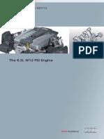 6300cc W12 FSI Engine