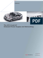 2012 A7 on Board Power Supply and Networking