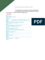 Eliminar Accesos Directos y Desocultar Archivos en USB