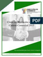 Proveedor de Cadena Comercial 2015