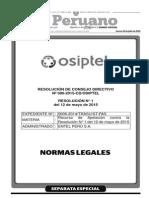 Separata Especial 1 Boletín 23-07-2015 Normas Legales TodoDocumentos.info