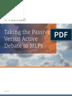 Alerian – Taking the Passive vs Active Debate to MLPs(3)
