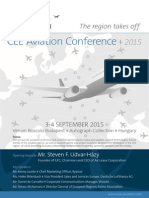 CEE Aviation Conference Budapest 2015