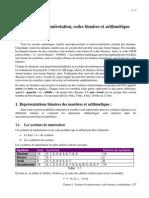Chapitre 1 - Systemes de Numerotation