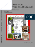 Kelas 11 SMK Desain Interior Rumah Tinggal Minimalis 1