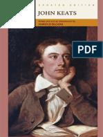 Harold Bloom Keats