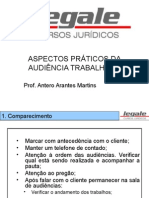 Material - Audiˆncia Trabalhista - Antero - 06.03.2014