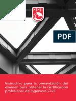 Cicm-Instructivo-2015-Guia Estudio Certificacion Ing Civil