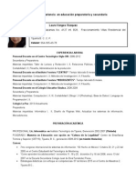 Curriculum Vitae Vavl
