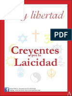 CREYENTES Por La LAICIDAD, Boletín 1