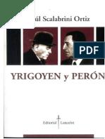 Yrigoyen y Perón