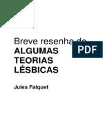 Breve Resenha Teorias Lesbicas - Jules Falquet