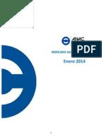Mercado Automotor Enero 2014