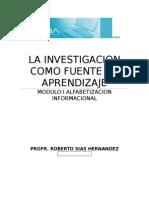 La investiagacion como fuente de aprendizaje