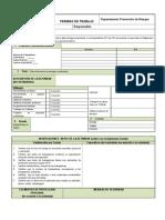 Formulario Permiso de Trabajo