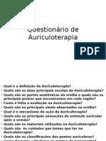 Questionário de Auriculoterapia