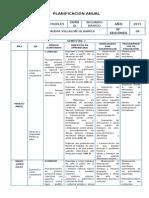 Planificacion de Artes Visuales - 2 Basico