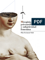 Pilar Errázuriz Vidal - Misoginia Romántica Psicoanálisis y Subjetividad Femenina