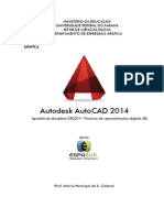 Apostila AutoCAD 2014