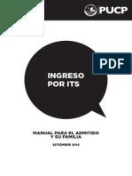Manual para el admitido y su familia-  Ingreso por ITS 2015 (1).pdf