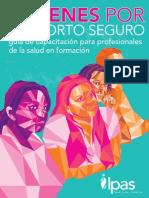 Jóvenes por el Aborto Seguro - Guía de capacitación para profesionales de la salud en formación