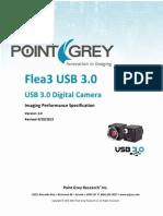 Flea3 USB3.0 imaging performance