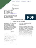 Sylvester et al v. Menu Foods, Inc. et al - Document No. 11